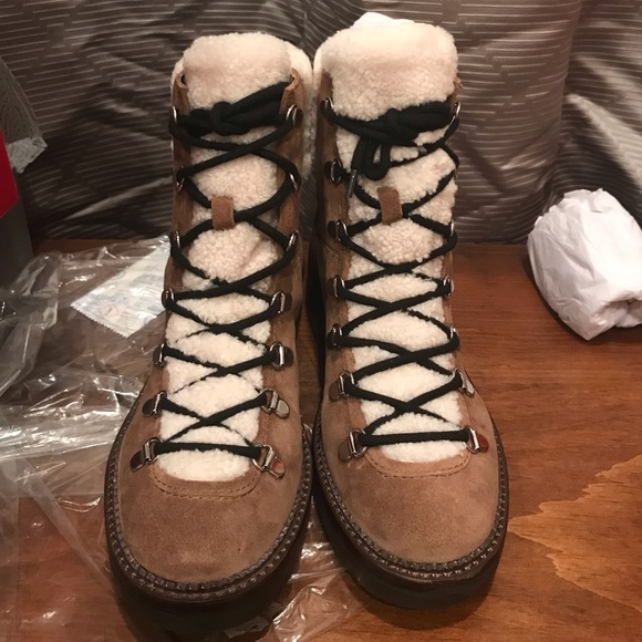 bc17a3e3364 Marc Fisher 8.5M Capell Lace Up Hiker Boot-NEW!